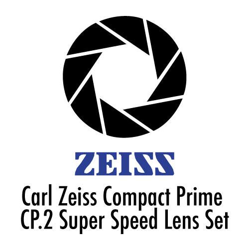 Kiralık Carl Zeiss Compact Prime Super Speed Cine Lens Seti