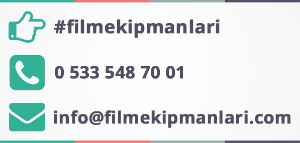film ekipmanları iletişim