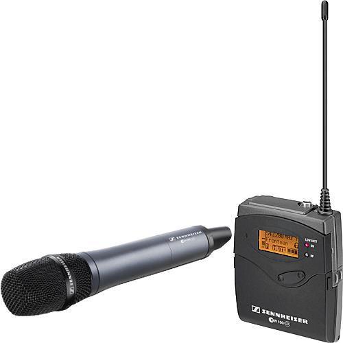 Sennheiser EW135p-G3 Telsiz El Mikrofonu Kamera Seti Kiralık