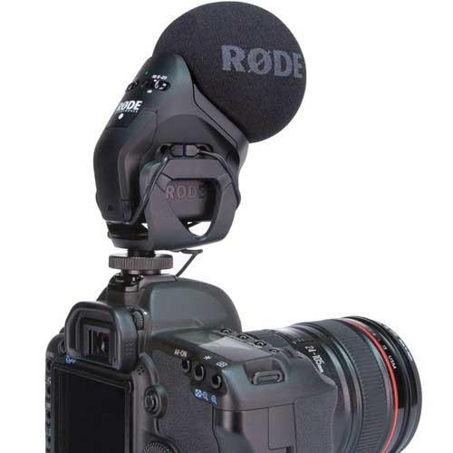 Kiralık Rode VideoMic Stereo Pro Mikrofon