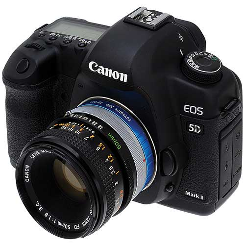 Canon FD Lens to Canon EOS Adaptör Kiralama