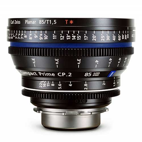 Kiralık Carl Zeiss CP2 85mm Super Speed Lens