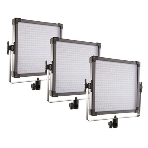 3lü Led Panel Işık Seti
