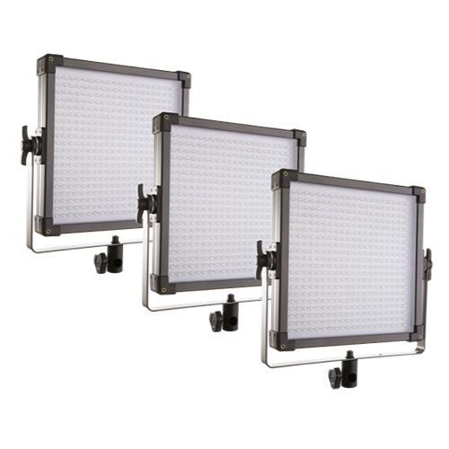 3lü Led Panel Işık Seti