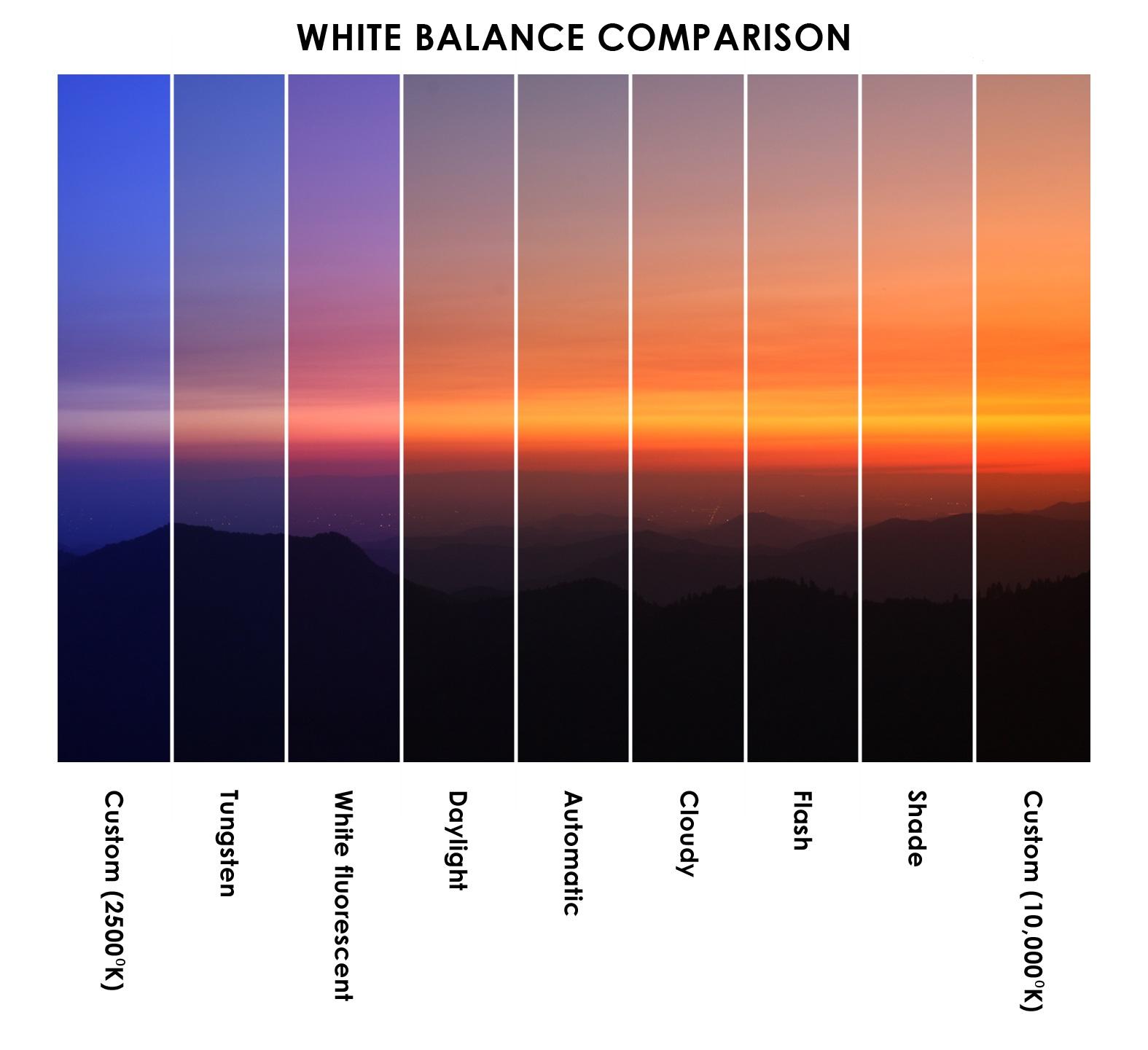 баланс белого в фотографии что это благодаря этой